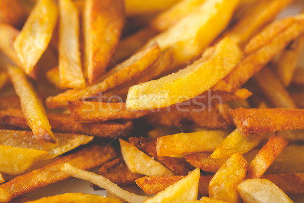 Home fries potatoes Stock photo © Supertrooper