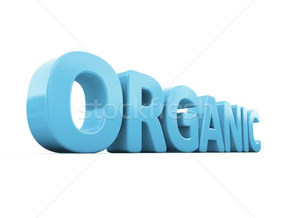 3d organic Stock photo © Supertrooper