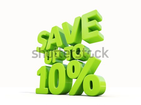 Save up to 5% Stock photo © Supertrooper