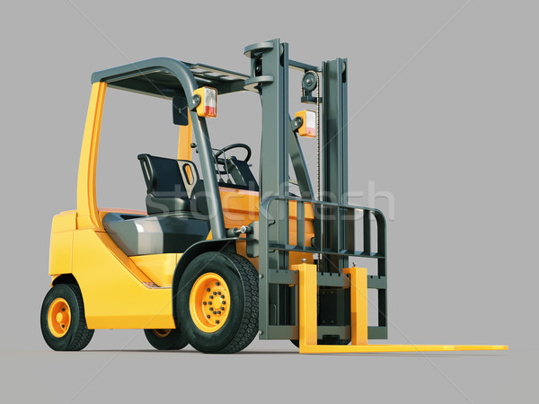 Forklift truck Stock photo © Supertrooper
