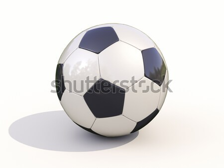 Classic soccer ball Stock photo © Supertrooper