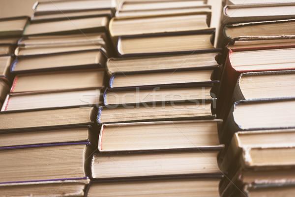 Edad libros educación conocimiento aprender Foto stock © Supertrooper