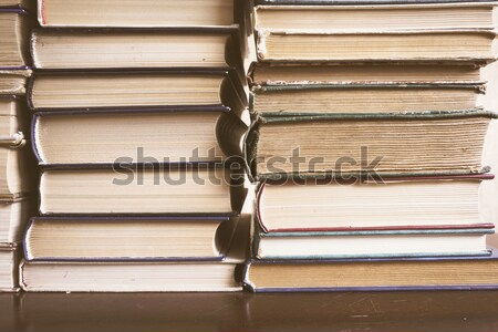 Stack Of Old Books Stock photo © Supertrooper