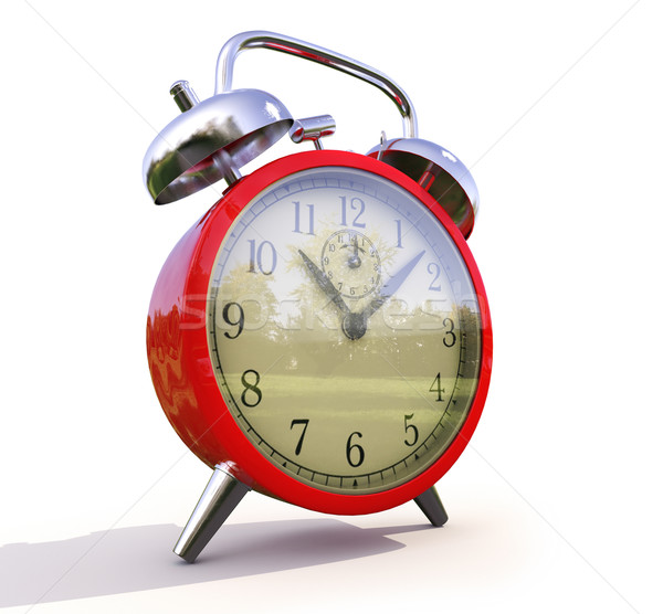 Alarm clock Stock photo © Supertrooper