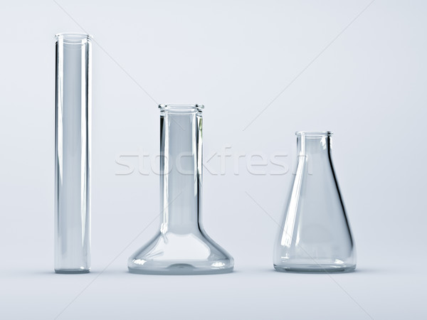 Chemical flasks Stock photo © Supertrooper