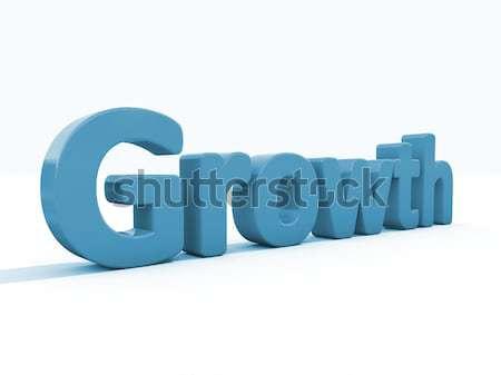 3D kelime sevmek ikon beyaz 3d illustration Stok fotoğraf © Supertrooper