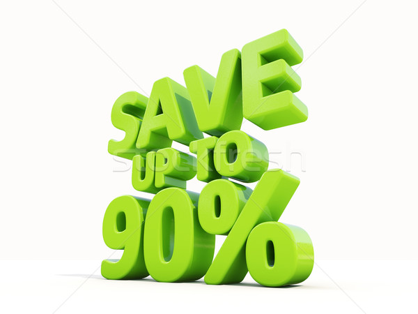 Save up to 90% Stock photo © Supertrooper