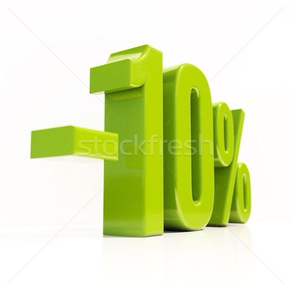 10 Percent Sign Stock photo © Supertrooper