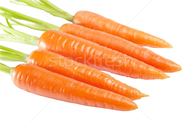 Carrot isolated Stock photo © Supertrooper