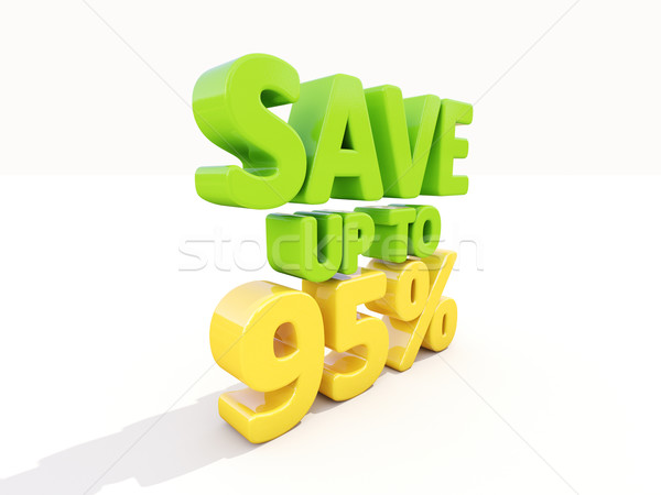 Save up to 95% Stock photo © Supertrooper
