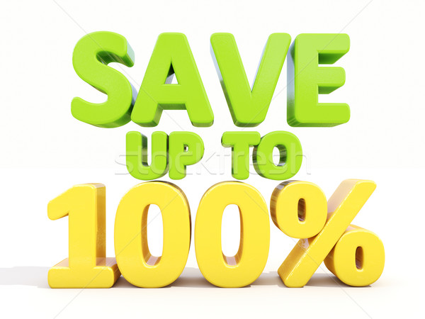 Save up to 100% Stock photo © Supertrooper