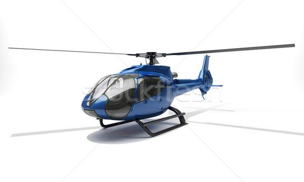 современных вертолета синий свет медицина скорости Сток-фото © Supertrooper