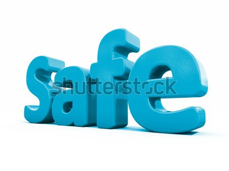 3d word life Stock photo © Supertrooper