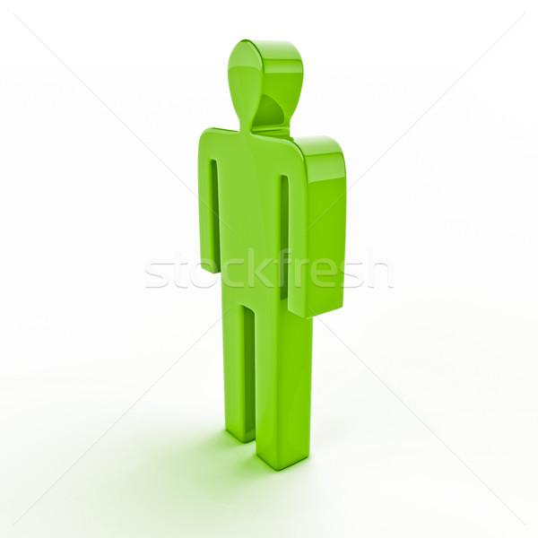3d human figure Stock photo © Supertrooper