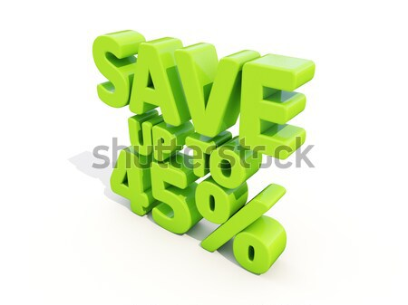 Save up to 45% Stock photo © Supertrooper