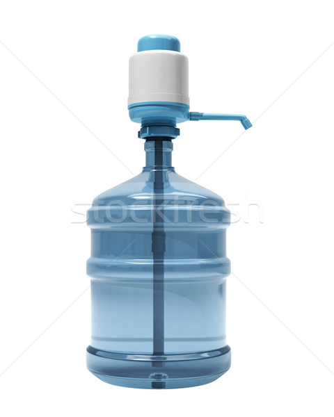 Bottle of water with the pump Stock photo © Supertrooper