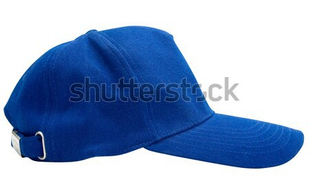 Blue baseball cap isolated Stock photo © Supertrooper