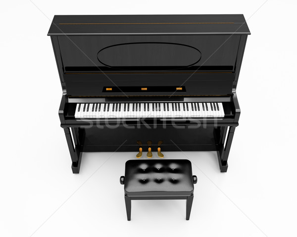 Upright piano Stock photo © Supertrooper
