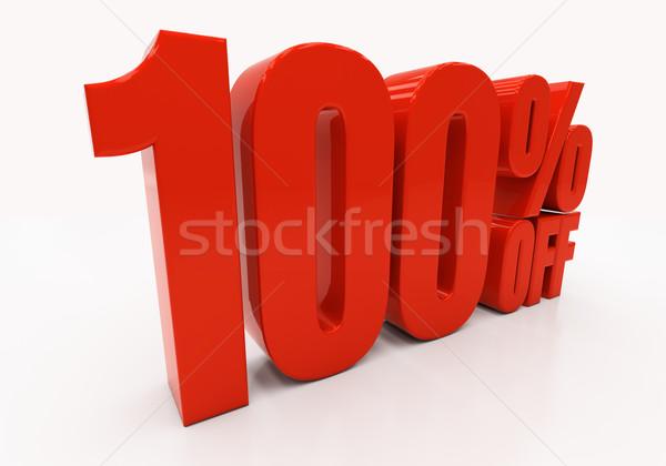 3D 100 percent Stock photo © Supertrooper