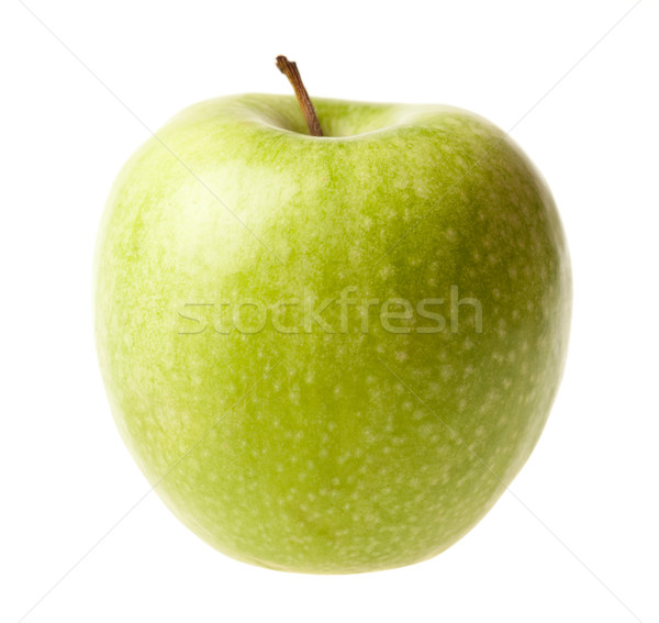 Green ripe apple isolated Stock photo © Supertrooper