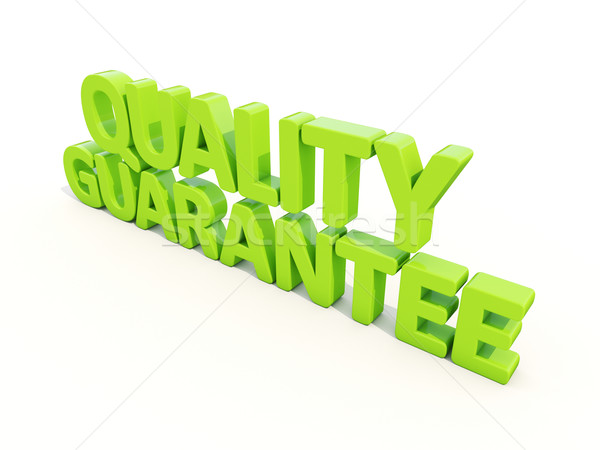 3d Quality guarantee Stock photo © Supertrooper