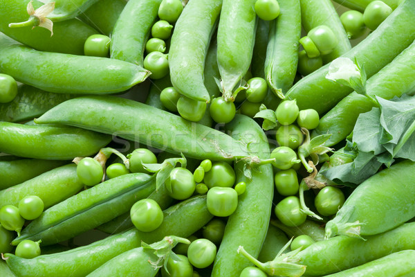 Verde piselli fresche colore verdura Foto d'archivio © Supertrooper