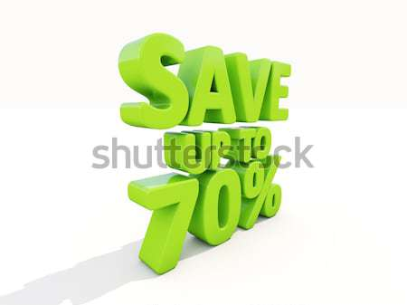 Save up to 20% Stock photo © Supertrooper