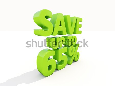 Save up to 65% Stock photo © Supertrooper