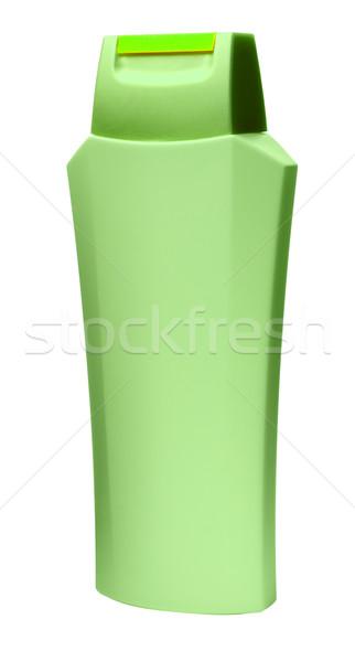 Shampoo isolato bottiglia bianco bellezza latte Foto d'archivio © Supertrooper