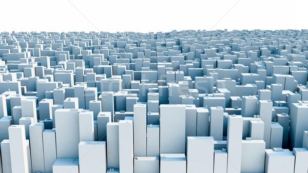 Urban buildings Stock photo © Supertrooper