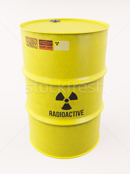 Radioactive materials Stock photo © Supertrooper