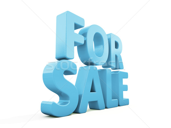 3d For sale Stock photo © Supertrooper