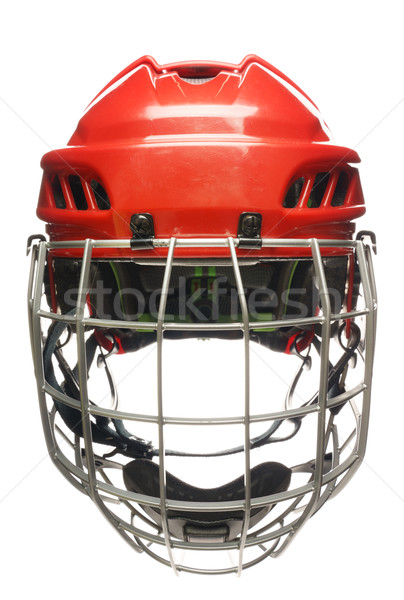 Hockey helmet isolated Stock photo © Supertrooper