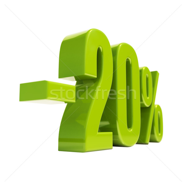 20 Percent Sign Stock photo © Supertrooper