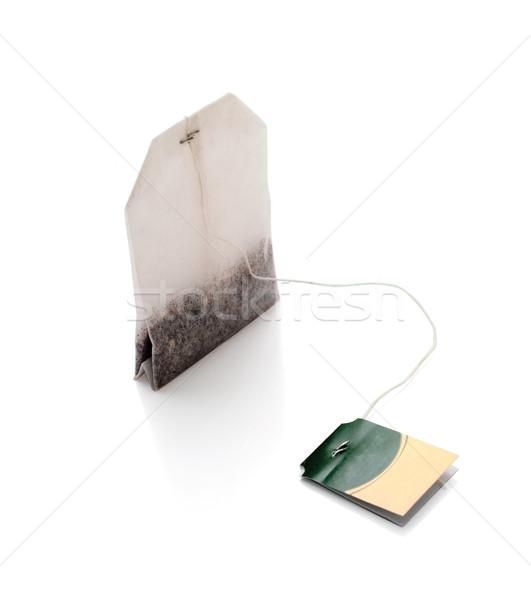 Tea bag isolated Stock photo © Supertrooper