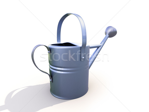 Watering can made of metal Stock photo © Supertrooper