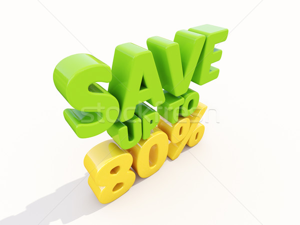 Save up to 80% Stock photo © Supertrooper