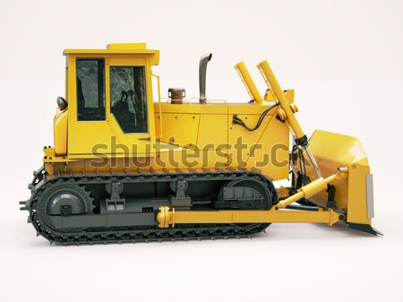 Modern grader  Stock photo © Supertrooper