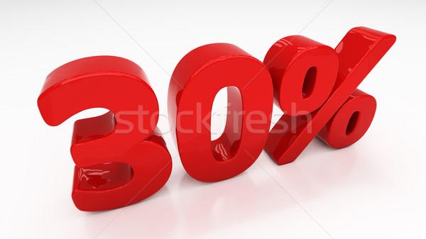 3D тридцать процент скидка 30 Сток-фото © Supertrooper