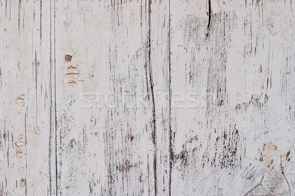 Foto stock: Velho · superfície · pintado · pintar · rachado