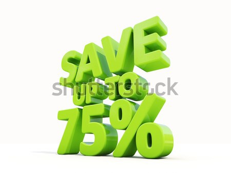 Save up to 99% Stock photo © Supertrooper