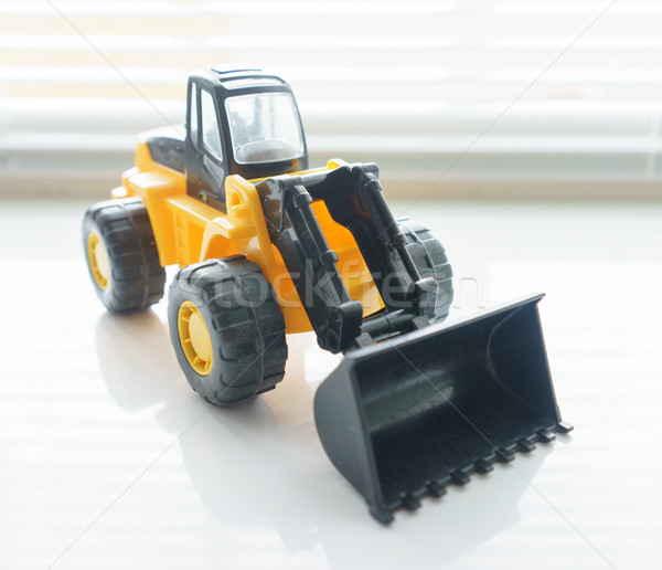 Toy Wheel Loader Close up Stock photo © Supertrooper