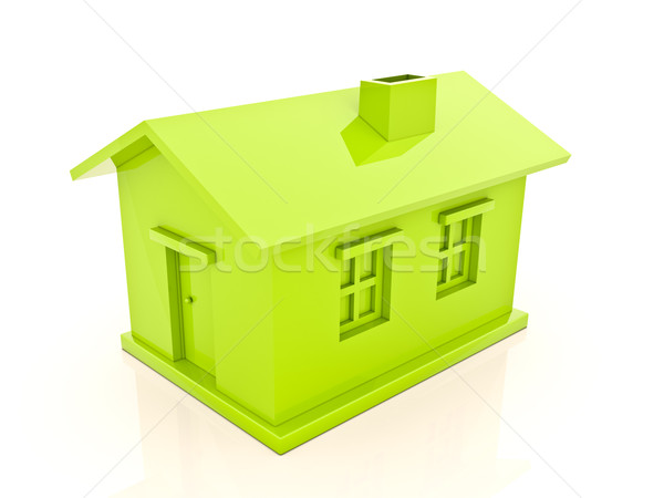 Simple house Stock photo © Supertrooper
