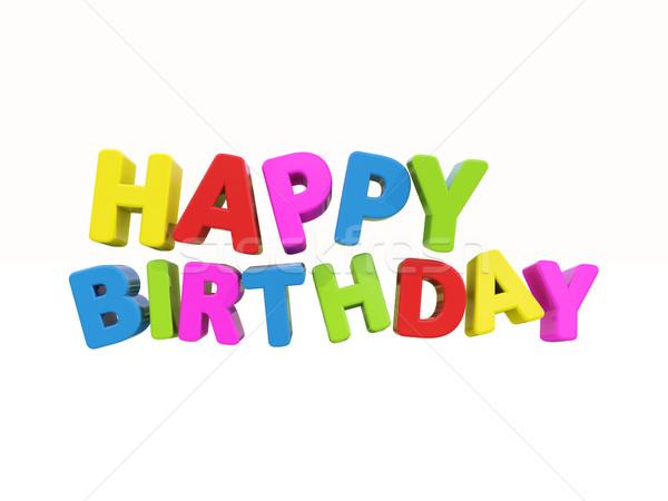 Happy birthday Stock photo © Supertrooper