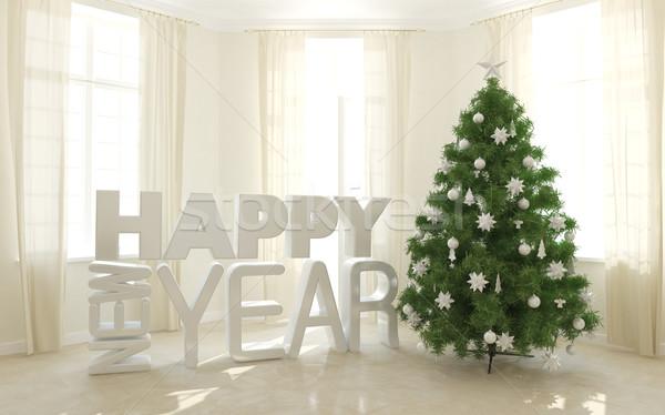 Christmas tree Stock photo © Supertrooper