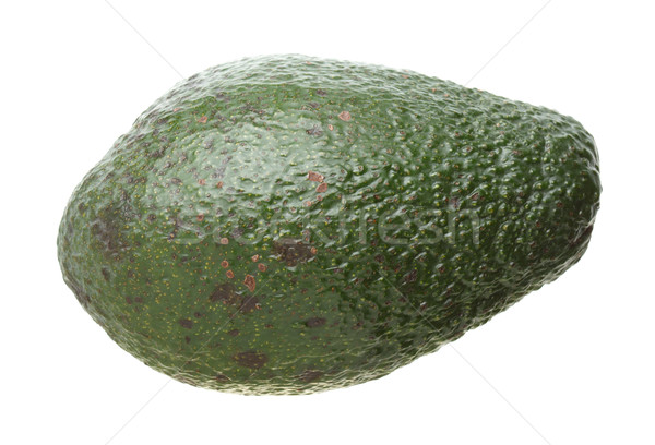Stock photo: Avocado isolated on white
