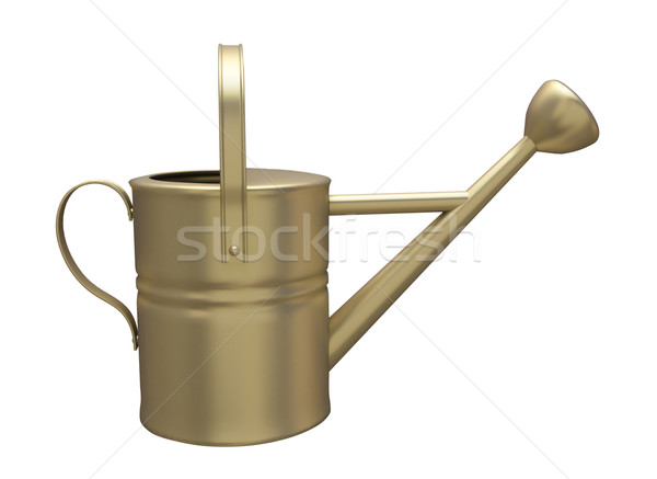 Garden watering can Stock photo © Supertrooper