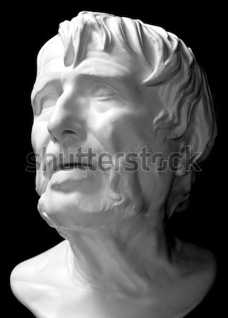 Plaster head of the ancient Greek Stock photo © Supertrooper