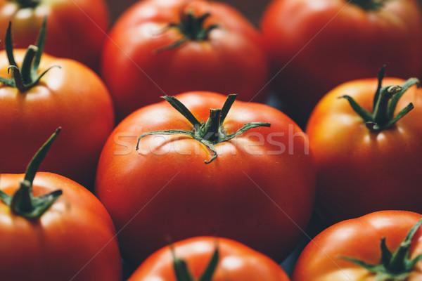 Ripe tomatoes Stock photo © Supertrooper