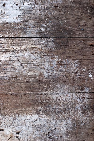 Old wooden painted surface Stock photo © Supertrooper